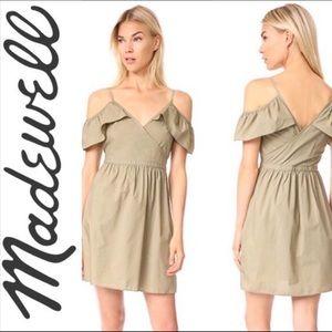Madewell Green Dress